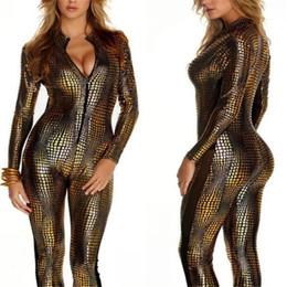 Serpentine cuir verni chat discothèque DS commerce extérieur en gros peau de serpent sexy pièce vêtements ? partir de fabricateur