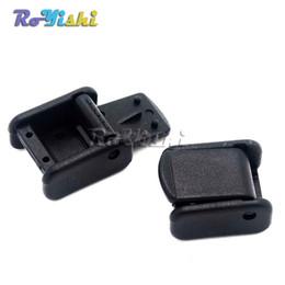 "Wholesale Collar Locks - 100pcs lot 3 8"" Webbing Plastic Cam Lock Buckle Black Toggle Clip Backpack Straps Belt Buckle Dog Cat Collar"