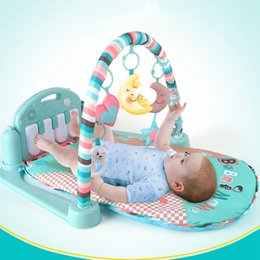 Wholesale Musical Gym - Hot Sale Baby Play Mat Piano Gym, Infant Activity Center, Kick and Play Newborn Toy for Baby 1 - 36 Month, Lay and Play, Tummy Time Play Mat