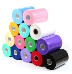 "Wholesale Gift Wrap Rolls - Tulle Roll Spool 6""x100yd Wedding Netting Sheer Decor Banner Garland Tassel Chair Bow Sash Diy Tutu Skirt Fabric Gift Craft Wrap event favor"