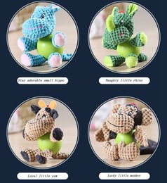 Wholesale Cleaner Production - New environmentally safe grinding teeth of 2017 multi - modeling plush toys sound production cleaning teeth pet use
