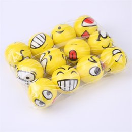 Wholesale Smiling Ball - Yellow Vent Ball Smiling Face Emoji Balls Reduce Stress Toys Children Gifts For Many Styles 0 9td C