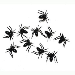 Wholesale Person Toy - Wholesale-Tricky Halloween Haunted House spoof the whole person Funny Toys simulation fake spider small spider