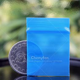 "Wholesale Transparent Ziplock Bags - Free Shipping Blue Transparent Color 500pcs 3x4cm Mini Ziplock Bags 8mil 1.2""x1.6"" Reclosable Self Sealing Tiny Plastic Baggies"