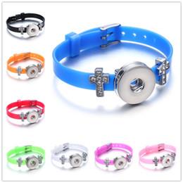 Noosa snap ювелирные изделия конфеты цвета snap кнопка кожаный браслет для женщин из нержавеющей стали крест кнопка очарование браслет часы от