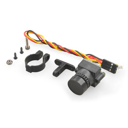 Wholesale Camera For Fpv - F18142 HD 1000TVL Mini FPV Camera Lens 2.8mm 3MP PAL NTSC Switchable w  Angle Adjustable Holder for DIY RC Racing Drone 250 210