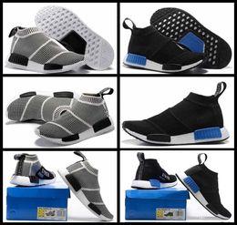 Wholesale Mens Outdoor Socks - NMD_CS1 PK Runner City Sock Nmd Cs1 CS 1 Mens Women Classic Running Shoes Fashion City Sock Cs1 Primeknit Grey Sports Sneaker EUR36-44