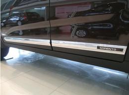 Wholesale Kia Sorento Wholesale - 4PCS set. FOR KIA Sorento body side door molding trim for 2010-2014