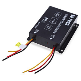 Wholesale Voltage Dc Power Supply - Wholesale- Voltage Reducer Efficient Car Power Supply Transformer for Bus Truck Protect Electrical Automotive Circuits 40A DC 24V to 12V