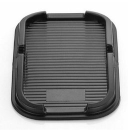 Wholesale Rubber Skid Mats - Mobile Phone Rubber Proof Anti Skid Pad Non Slip Auto Car Dashboard Interior Mat Holder For GPS Cell Phone