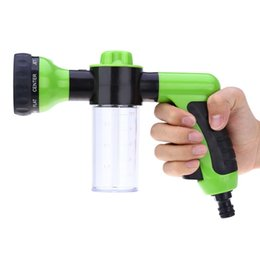Wholesale Gun Water Spray Nozzle - 2016 Hot Sale Car Washing Foam Water Gun Car Washer Portable Durable High Pressure For Car Washing Nozzle Spray