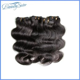 Wholesale Hair Weave Suppliers - chinese hair supplier guangzhou beautysister hair products wholesale 1kg 20bundles brazilian human hair weaves natural black color 6a grade