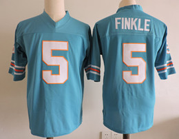 Wholesale Movie Films - Men's Ace Ventura Movie Football Jerseys stitched Teal Green #5 Ray Finkle Ace Ventura Film Jersey Size S-3XL