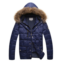 Wholesale Gentleman S Hat - Wholesale- Parka men's 2016 popular winter cotton padded fashion keep warming comfort excellent material gentleman free shipping