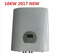 Wholesale Grid Tie Inverter Input - 2017 hot product Three Phase 10KW string inverter,grid tied inverter,High input voltage to reduce the power consumption,improve the efficie