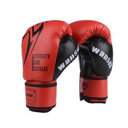 One Process Forming Adults Women Men Boxing Gloves MMA Muay Thai Boxe De Luva Mitts Sanda Equipments DNBO Fitness Training Coupons