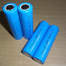 3.7v batería de iones de litio aa Rebajas Batería de litio de 18650 li-ion de alta calidad, batería de litio plana de 18650 5000mAh azul, se puede utilizar en linternas brillantes, etc.