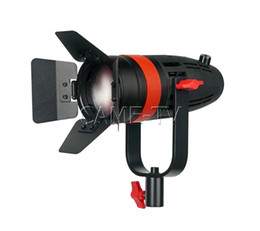 1 Pc CAME-TV Boltzen 55w Fresnel focalizável luz do dia LED com saco de