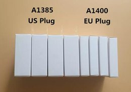 Wholesale Iphone 5v Usb Charger - Original Quality 5V 1A US EU Plug USB AC Power Charger Wall Adapter charging Charger A1385 A1400 With retail box