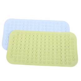 Wholesale Bathroom Mats Large - Wholesale- Luxury Anti Slip Suction Bath Mat - Non Slip Mats For Tub & Shower Bathroom Safety - Latex & PVC Free Natural Rubber
