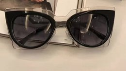 Wholesale Orchid Fashion - 2017 Lady 0117 S Orchid Cat Eye Sunglasses Women's Cat-eye   Round sunglasses Brand New with Case