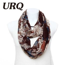 Wholesale Tube Loop Wholesale - Wholesale-fashion tube loop Ring scarf for woman Infinity scarves art Style New Ink Graffiti Printed lady scarves 2016 new arrival