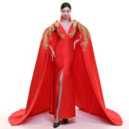 100%реальный красный павлин золотой вышивка длинный плащ платье Платье этап платье королева косплей Виктория платье Belle/может таможенный размер от Поставщики настоящий красный павлин