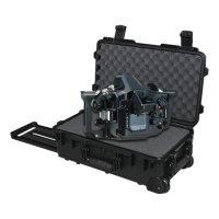 Wholesale Plastic Tool Trolley - plastic trolley waterproof tool case 2500 Shock proof box Photographic camera case with pre-cut foam External dimensions 587*358*221mm