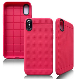 Wholesale Case Cover For Iphone5 Wallet - Luxury Ultra Thin Honeycomb Dot Soft TPU Phone Case Cover for iphoneX 8 7plus 6 6S plus iphone5 S Samsung S7 EDGE S8 plus Protective shell