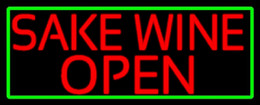 """Wholesale Red Wine Stores - Japan Hot Sake Wine Open Neon Sign Bar Pub Store Motel KTV Real Glass Tube Handmade Customized Advertisement Display Neon Signs 17""""X14"""""""