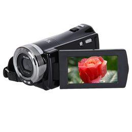 Записывающие камеры hd онлайн-Wholesale-16MP 2.7 inch 270 Rotation Rechargeable LCD Camera Automatic Digital Video Recording Camcorder Full HD 16x Zoom DV Camera