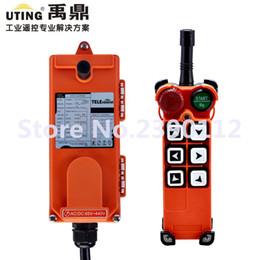 Wholesale Crane Remote - Wholesale- industrial wireless redio remote control F21-E1 for hoist crane