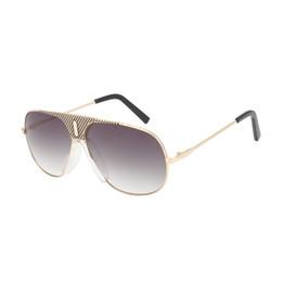 Wholesale Gradient Aviator Glasses - ROYAL GIRL Top Quality Sunglasses Men Brand Designer 2017 Fashion Aviator Driving Sun Glasses Mens Sunglasses SS234