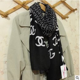 Wholesale Scarf Soft Woman - 2017 New Fashion Soft Women Scarf Female Cotton Scarf Scarves Butterfly Long Size Girls Wraps