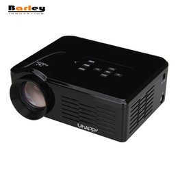Wholesale Proyector Tv - Wholesale-Uhappy BL35 U35 New HD TV Home Cinema Projector HDMI LCD LED Game PC Digital Mini Projectors Support 1080P Proyector 3D Beamer