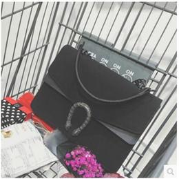 Wholesale Envelope Satchel - Wholesale-suede bags handbags women famous brand Dragon bag vintage chian crossbody bag classic shoulder messenger bolsas designer satchel