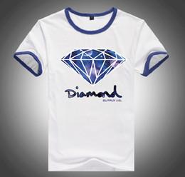 Wholesale Diamond Supply Shirts Free Shipping - S=5XL Free Shipping PA671K Brand Cheap 20 styles DGK Diamond Supply T-Shirts quality short sleeve tops