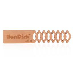 Wholesale Style 32gb Usb - HanDisk Hollow Metal bookmarks Diamond Plaid style Flash Drive 128MB 1 2 4 16 32 64 128gb Usb Pen Drive Portable Hard Drive EU086