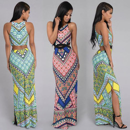 Wholesale Dress Oem - made in china guangzhou mcfs factory oem and odm customized manufacture summer maxi dresses for women