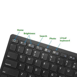 Wholesale Universal Phone Book - Universal Wireless Bluetooth Keyboard 3.0 for Apple iPad & iPhone Series Mac Book Samsung Phones and Tablets X5