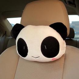 Nouvelle Arrivée Mignon Belle Panda Motif Siège De Voiture Cou / Tête Oreiller Doux Dos Coussin Appui-Tête CIA_607 ? partir de fabricateur
