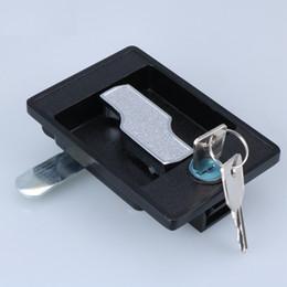 Wholesale Mechanical Door Locks - electrical cabinet door pull Cam lock distribution box knob mechanical lock hardware Equipment part Panel lock