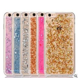 Wholesale Iphone Sparkle Cases - Luxury Bling Soft TPU Case Semi-transparent Flexible Protective Cases Sparkle Faceplate Colorful Cover For iPhone 6 6S 7 PLUS S7 S8 Plus