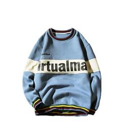 Wholesale Mens Short Sleeve Hoodies - New Pullover Spring Autumn Fashion Mens Hoodies And Sweatshirts Long Sleeve Printed Sweatshirt Men plus size