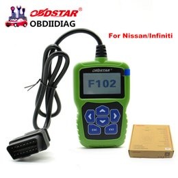 Wholesale Nissan Pin Code - OBDSTAR F102 Nissan Infiniti Automatic Pin Code Reader F102 with Immobiliser and Odometer Function better than NSPC001