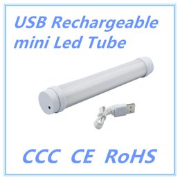 Wholesale Dimmable Led T8 - 5V USB Rechargeable Led Tube Emergency 200mm T8 Tube led lamp light 5 Model dimmable Outdoor Portable LED Campping Lamp