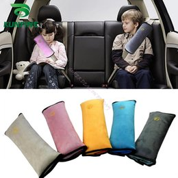 Wholesale Neck Cushions For Children - Soft Baby Car Safety Seat Belt Harness Shoulder Pad Cushion Neck Seatbelt for Children Protection KF-A1064