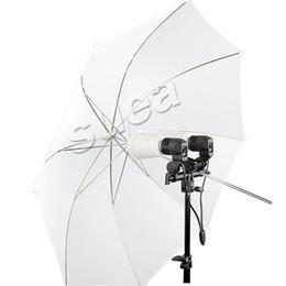 "Wholesale Soft Flash Diffuser - Wholesale-43"" 110cm Studio Flash Soft Translucent White Umbrella Diffuser For Dslr Foto Photography"