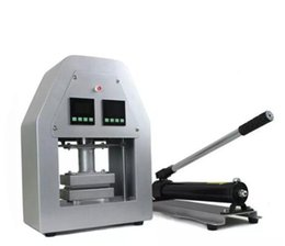 Nuevo llegado 20Ton Manual hidráulico Rosin Heat Press Dual placas de calor Rosin dab press machine desde fabricantes