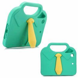 Ipad мини-пена случаях онлайн-Новый дизайн 3D галстук дети Case для iPad Mini 2 3 1 EVA пены противоударный стенд Shell обложка для Case iPad Mini 3 2 1 Coque Funda